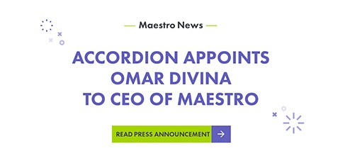 Accordion Appoints Omar Divina to CEO of Maestro